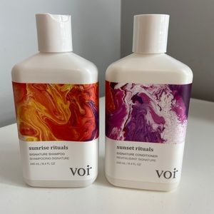 Voir shampoo and conditioner